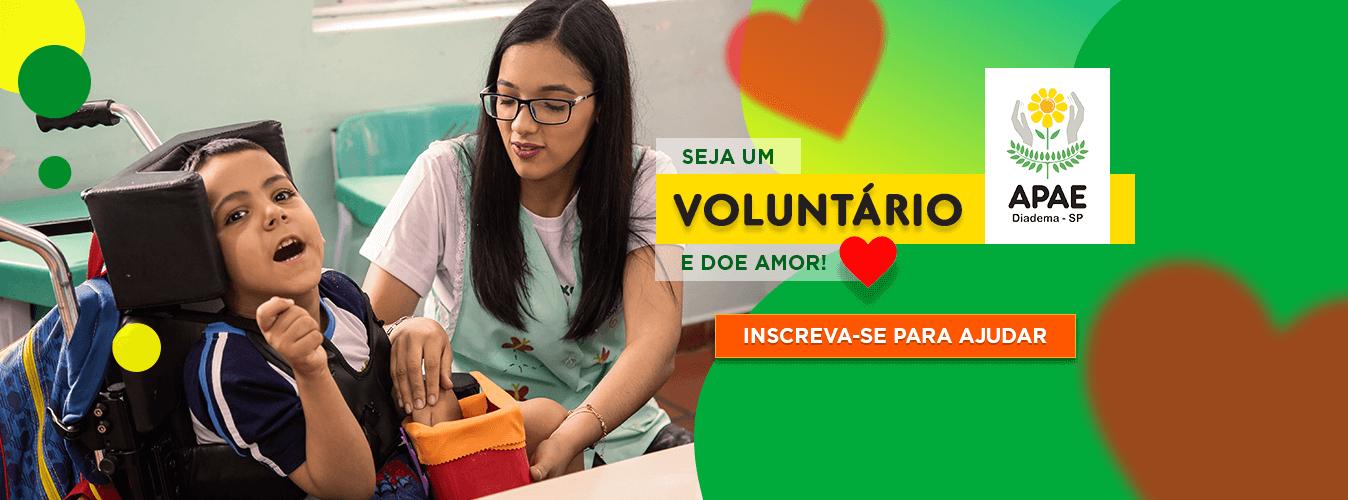 Seja um Voluntário da APAE
